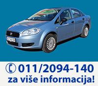 UniRent Rent a Car Beograd   Iznajmite Fiat Linea - preuzimanje vozila na aerodromu Beograd