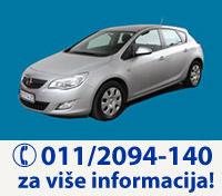 UniRent Rent a Car Beograd | Iznajmite Opel Astra J Hatchback Automatic - preuzimanje vozila na aerodromu Beograd