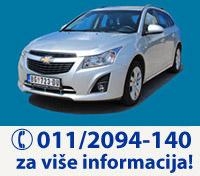 Novo u na�oj ponudi - Chevrolet CRUZE - pozovite 011/2094-140 za vi�e informacija