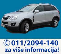 UniRent Rent a Car Beograd | Iznajmite Opel Antaru - preuzimanje vozila na aerodromu Beograd