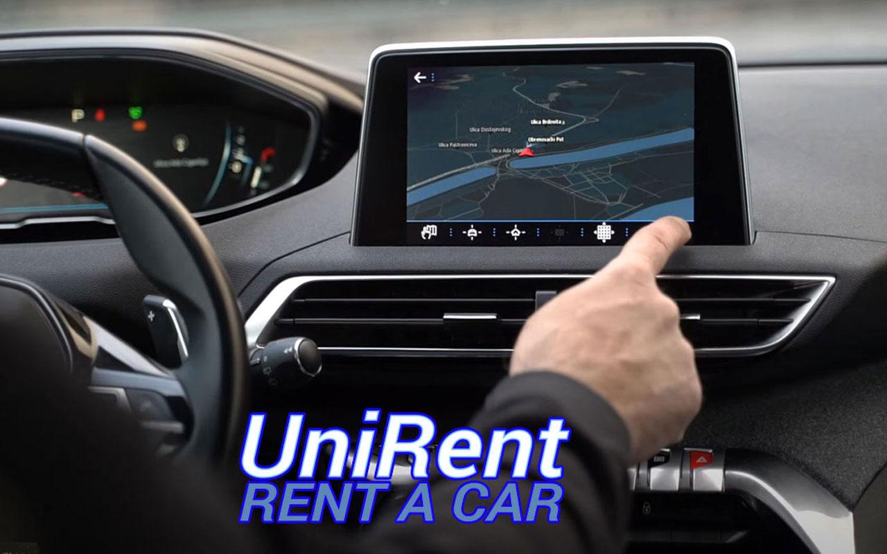 GPS navigacija kod iznajmljenih vozila