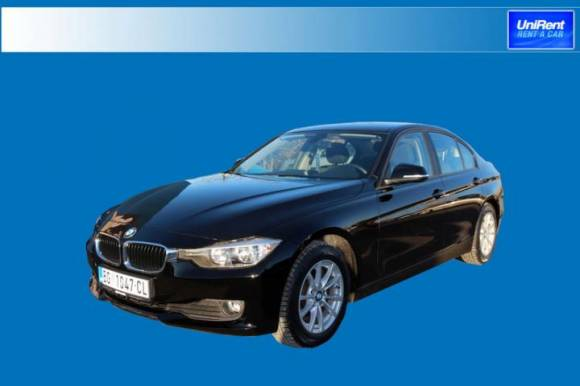 New vehicle in the group G. BMW 316 2.0  AUT.  Diesel