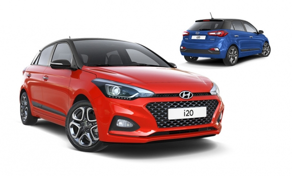Hyundai i 20 NOVI MODEL u grupi B+ vozila