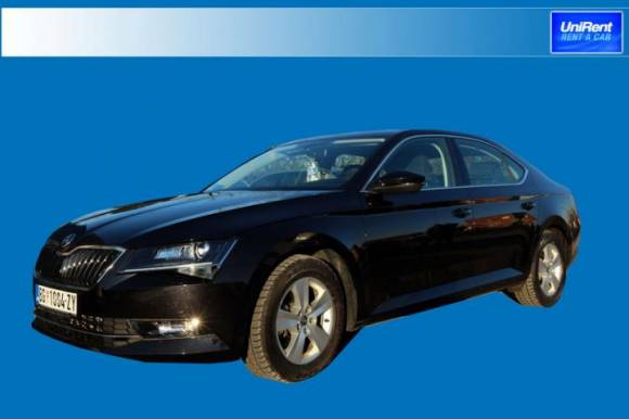 New vehicle Skoda Superb in group G