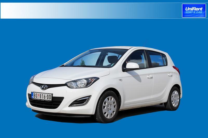 Hyundai i20 možete rezervisati u grupi B vozila
