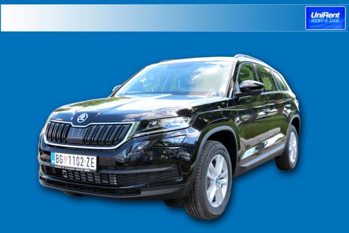 Soon new vehicle Škoda Kodiaq 4x4, 2.0, 190hp, DSG Automatic, 5+2 seats