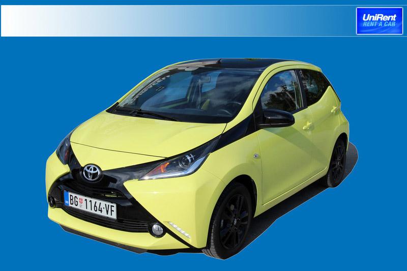 Toyota Aygo  novo vozilo u grupi A
