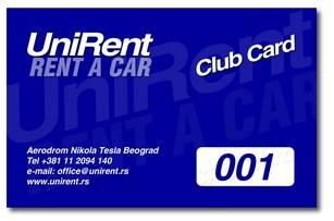 UniRent Club - Mi nagrađujemo vaše poverenje