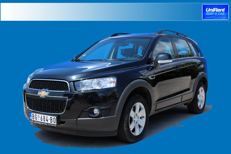 Chevrolet Captiva Automatic 2.2 TD (5+2)